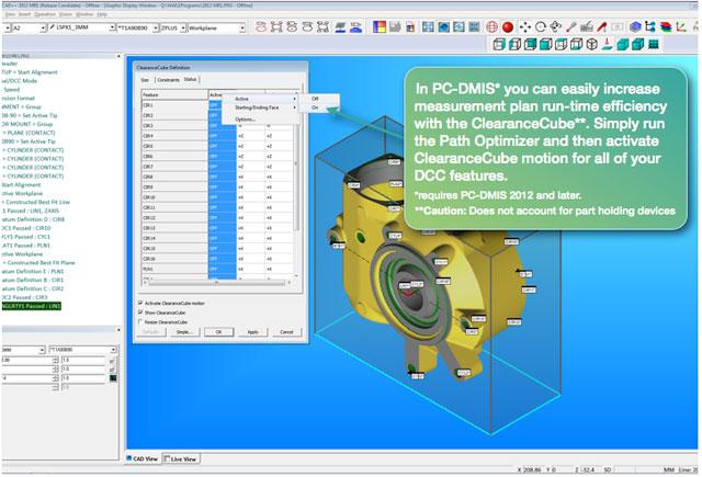 pc dmis tips tricks using the clearancecube rh cmmquarterly mbccmm com pc-dmis user guide pc dmis user manual pdf